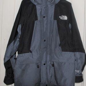 Blue/Black North Face Goretex Jacket Summit Series